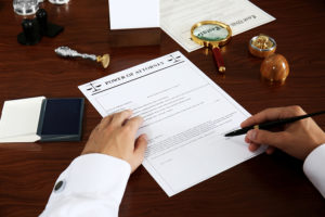 Estate Planning Self Examination Checkup:  Power of Attorney