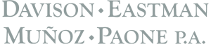 davison eastman munoz paone law firm logo
